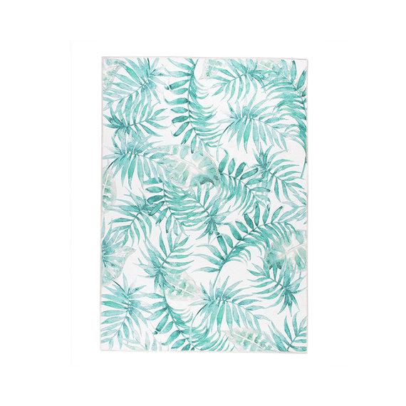 FRAAI Botanical vloerkleed - Palmier Leaves Green