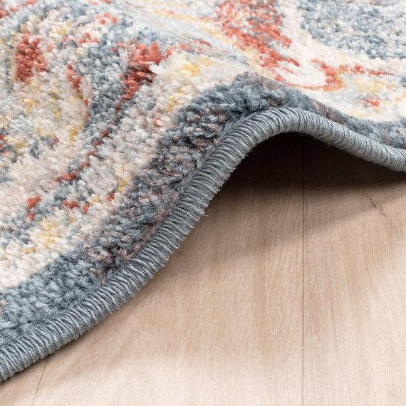 FRAAI Vintage vloerkleed - Inspire Blauw/Rood No. 216