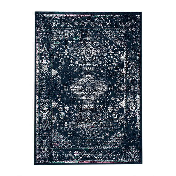 FRAAI Vloerkleed Ambiance - Oriental Blauw Wit