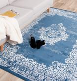 FRAAI Vintage Vloerkleed - Adore Medaillon Blauw