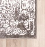 FRAAI Vintage Vloerkleed - Adore Medaillon Taupe/Grijs