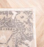 FRAAI Vintage vloerkleed - Deep Tile Creme