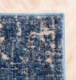 FRAAI Patchwork vloerkleed - Deep Blauw