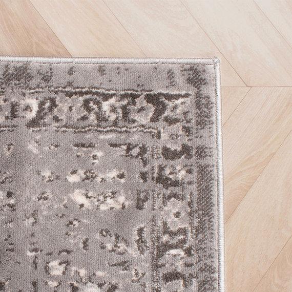 FRAAI Vintage vloerkleed -  Deep Medaillon Grijs