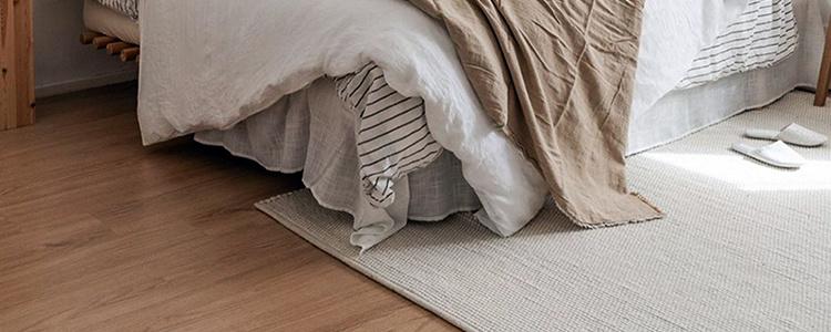 wollen slaapkamer vloerkleed