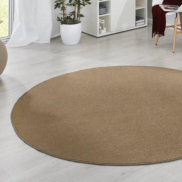 Rond vloerkleed - Fancy bruin