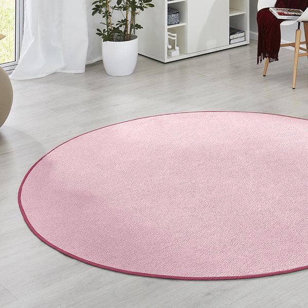 Rond vloerkleed - Fancy roze