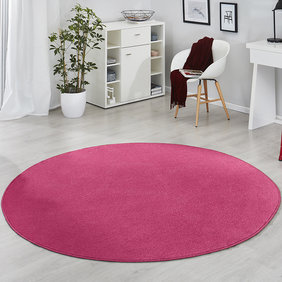 Hanse Home Rond vloerkleed - Fancy Fel Roze