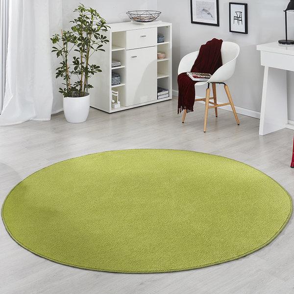 Rond vloerkleed - Fancy Groen