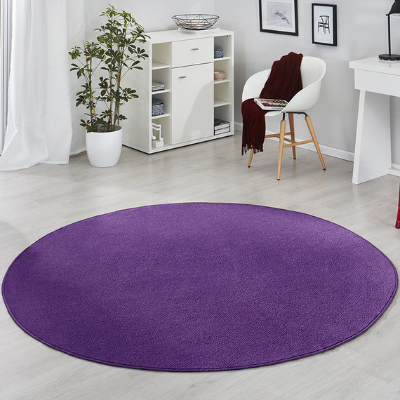 Hanse Home Rond vloerkleed - Fancy Lila