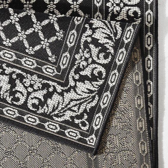 Bougari Buitenkleed - Royal zwart