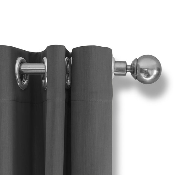 Lifa Living Luxe Verduisterende Gordijnen - Zilver grijs - Ringen