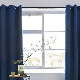 Lifa Living Luxe Verduisterende Gordijnen - Blauw - Ringen