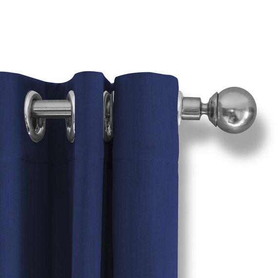 Lifa Living Luxe Verduisterende Gordijnen -Blauw - Ringen