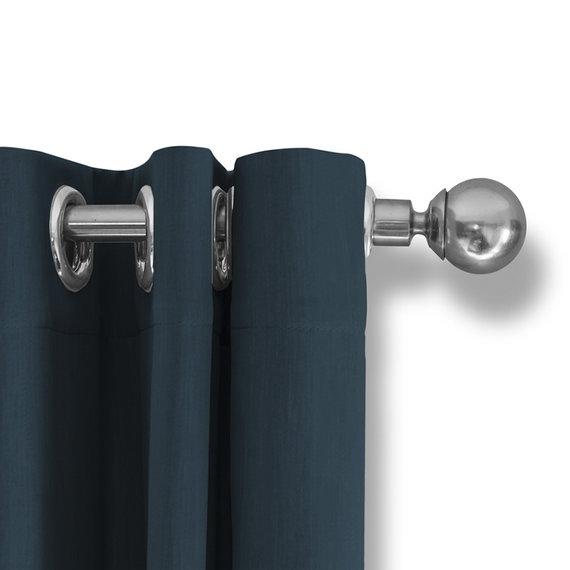 Lifa Living Luxe Verduisterende Gordijnen - Teal - Ringen