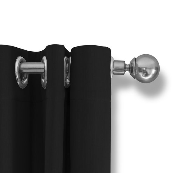 Lifa Living Luxe Verduisterende Gordijnen - Zwart - Ringen
