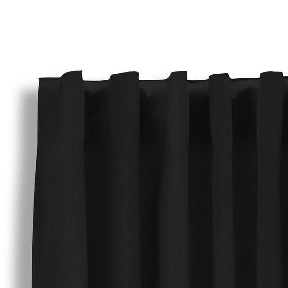 Lifa Living Luxe Verduisterende Gordijnen - Zwart - Haken