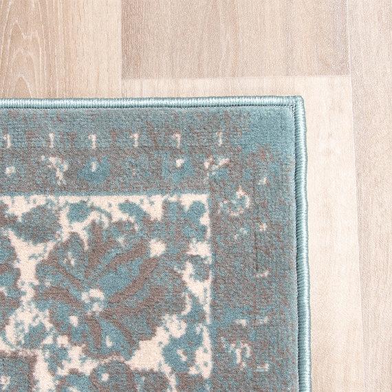 FRAAI Vintage vloerkleed - Miracle Grijs / Blauw