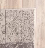 FRAAI Patchwork vloerkleed - Grijs/Bruin