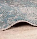 FRAAI Patchwork vloerkleed - Miracle Grijs/Blauw