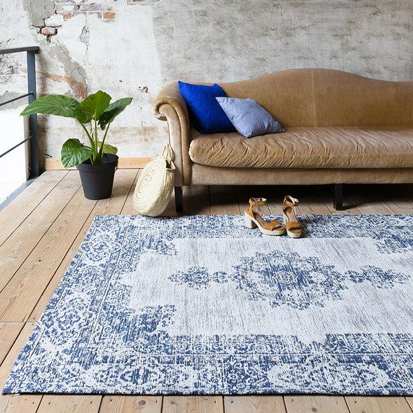 FRAAI Vintage vloerkleed - Dreams Diep blauw