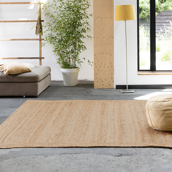 Jute vloerkleed  - Fair Naturel