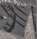 Hanse Home Kindervloerkleed - Patchwork Ster Grijs