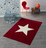Hanse Home Kindervloerkleed - Ster Rood