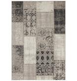 Bougari Patchwork buitenkleed  - Symi Taupe Zwart