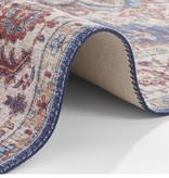 Nouristan Vintage loper - Asmar Anthea Donker Blauw