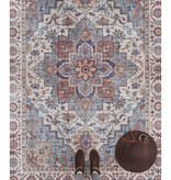 Nouristan Vintage vloerkleed - Asmar Anthea Blauw