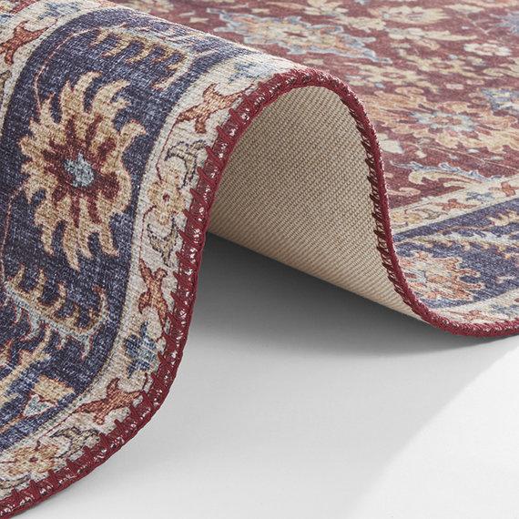 Nouristan Vintage vloerkleed - Asmar Viviana Rood