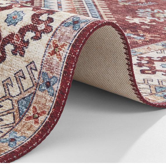 Nouristan Vintage Loper - Asmar Gratia Rood