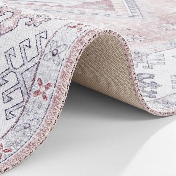 Nouristan Vintage vloerkleed - Asmar Gratia Roze