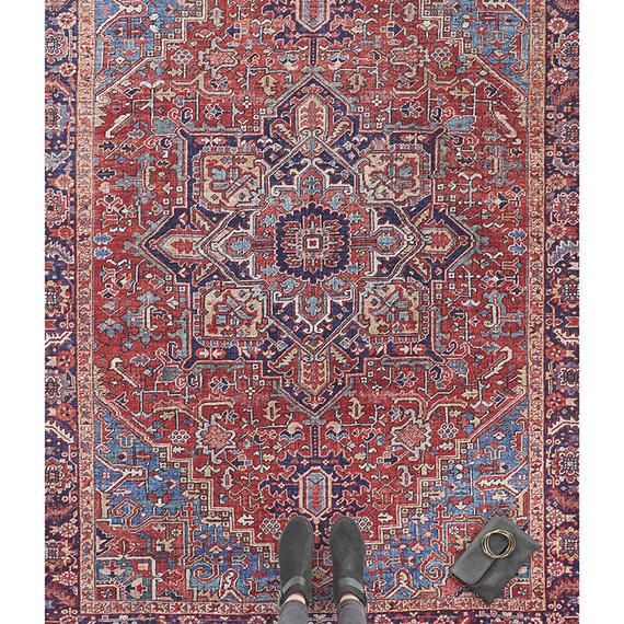 Nouristan Vintage vloerkleed - Asmar Amata Rood