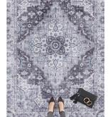 Nouristan Vintage vloerkleed - Asmar Sylla Donker Grijs