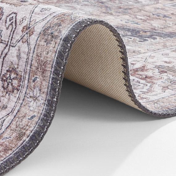 Nouristan Vintage vloerkleed - Asmar Sylla  Grijs