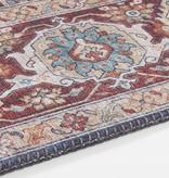 Nouristan Vintage vloerkleed - Asmar Sylla Blauw Rood