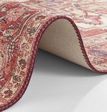 Nouristan Vintage vloerkleed - Asmar Leta Rood