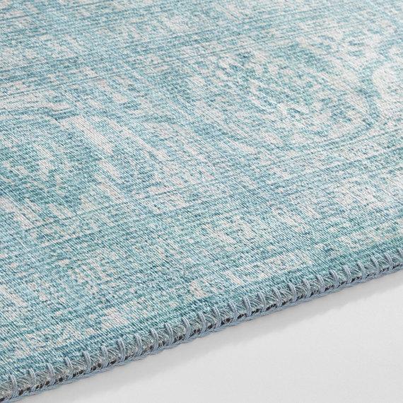 Nouristan Vintage vloerkleed - Asmar Carmen Aquamarijn