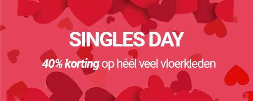 Singles Day Vloerkleden