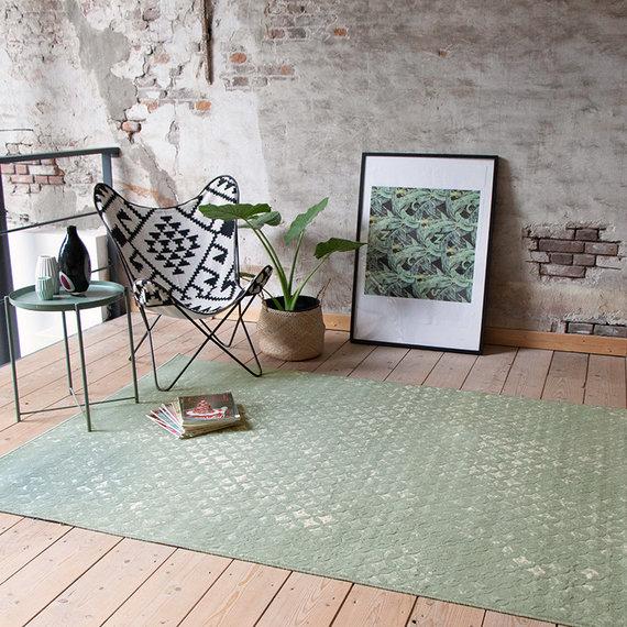 FRAAI Vintage vloerkleed - Wonder Rustic Groen
