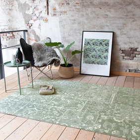 FRAAI Vintage vloerkleed - Wonder Patchwork Groen