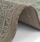 Bougari Vintage Buitenkleed - Java Anjara Groen