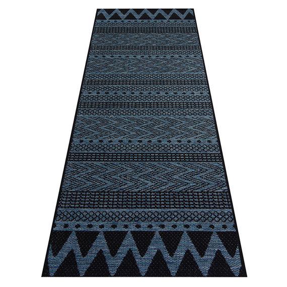 Bougari Scandinavisch Loper - Java Sidon Blauw
