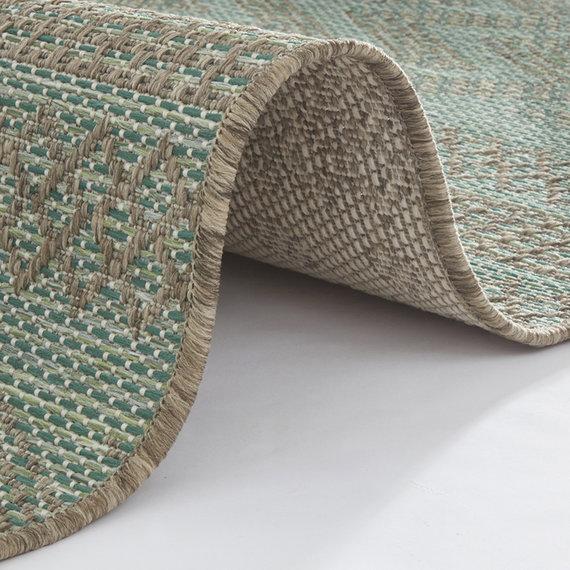 Bougari Scandinavisch Buitenkleed - Java Sidon Groen