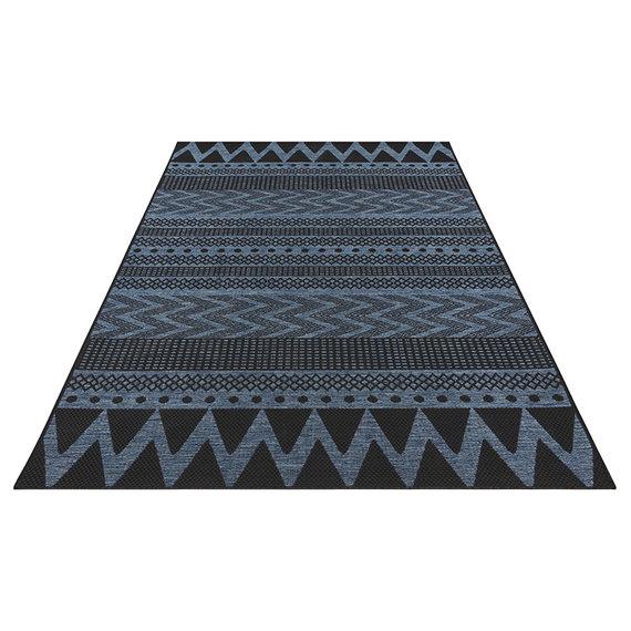 Bougari Scandinavisch Buitenkleed - Java Sidon Blauw
