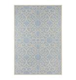 Bougari Modern Buitenkleed - Java Nebo Blauw