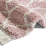 Mint Rugs Hoogpolige loper - Desire Pearl Roze