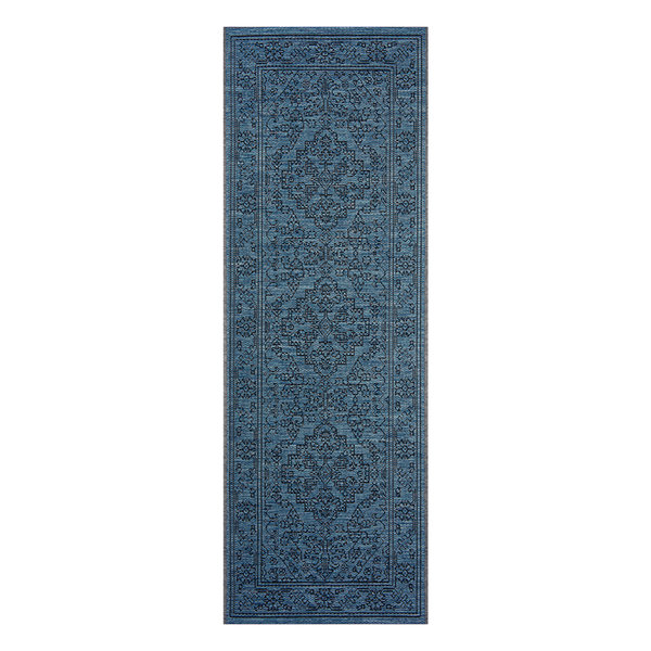 Vintage Loper - Java Tyros Blauw Antraciet